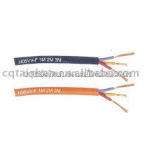 PVC-isolierter flexibler Kupferdraht