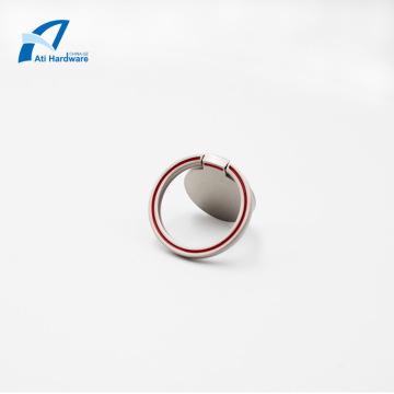 Support de téléphone à anneau en métal unisexe Simply Plain