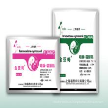 Nova Formulação Fungicida-Oxadiazão & Cymoxanil