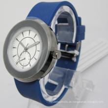 Wasserresistente Quarz Silikon Geschenk Uhr