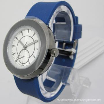 Relógio De Presente De Silicone De Quartzo Resistente À Água