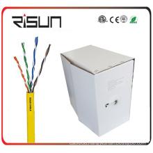 1000 FT Bulk Roll of Cmr Cat5e Solid UTP Riser Cable - 24 AWG
