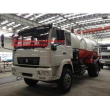 Camión de succión de aguas residuales SINOTRUK HOWO 336hp