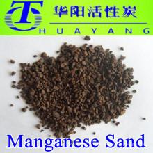 Filtro de arena BIRM Arena de manganeso verde para la eliminación de hierro