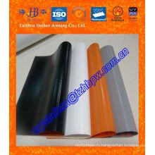 Ткань из ПВХ с полотняным покрытием, Тканевый брезент ПВХ