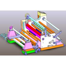 Máquina de rebobinamento de rótulas e etiquetas de papel