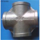 Medium pressure stainless steel cross