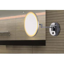 8.5W Decorative Mirror LED Wall Lamp with Circle Shape,Brand Chip