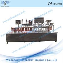 Machine linéaire de remplissage et d'étanchéité