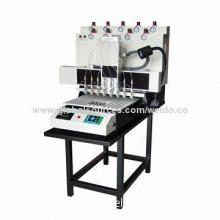 Plastic Rubber PVC Keychain Making Machine, Save Labors, Highly Efficient