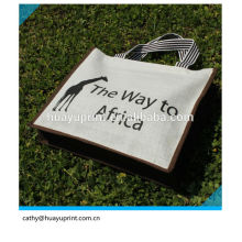 Luxury Customized Logo Jute bag ,jute gunny bags , jute bags wholesale