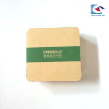 Conception papier carton ondulé produits électroniques expédition boîtes d'emballage brun ondulé