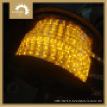 Batterie Rope Light Round 2 fils Yellow Color