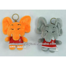 new type cute and lovely plush elephant keychain