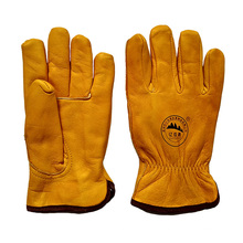 Top Grade Cowhide Winter Safety Warm Gloves for Riggers