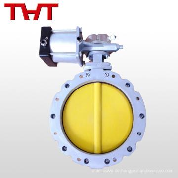 1 Zoll elektrisch betätigte Pulver-Absperrklappe