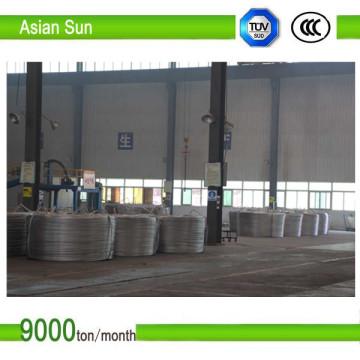 Hochwertige, hochreine, von der IEC zugelassene 9,5-mm-Aluminiumstange