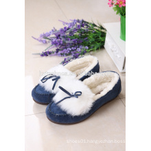 Women winter moccasin shoes casual shoes for lady