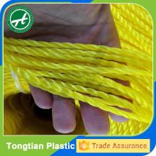 Raw material high density polyethylene yarn
