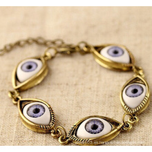 Evil Eye Anti Chapado pulsera (XBL13489)