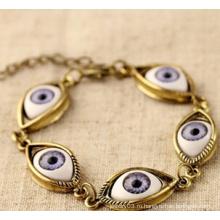 Злой Анти-глаз Плакировкой Браслет (XBL13489)