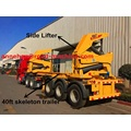 XCMG side lifter container trailer