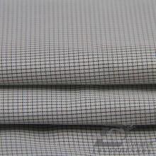 Imperméable à l'eau et à l'extérieur Vêtement de sport en plein air Veste en coton tissé Jacquard Tissu 100% polyester en fil de fil noir (FJ012)