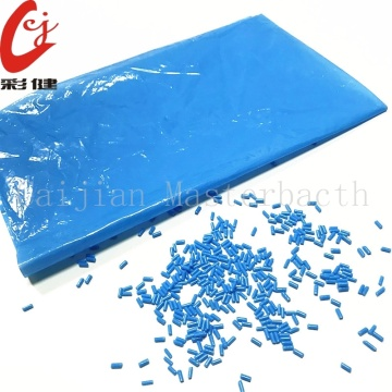 Bright Blue Color Masterbatch Granules