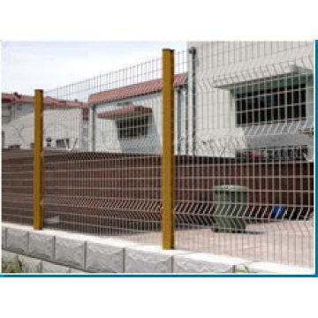 Valla de malla de alambre soldado galvanizado (s012)