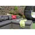 Impressive Design Sectional Patio Garden Sofa Set Wicker Furniture