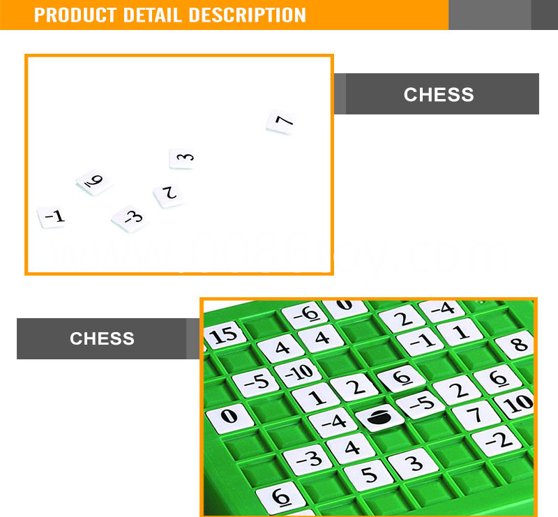 Game Educational Toys Scrabble Game
