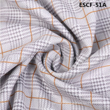 Print and Golden-Plating  Suede Fabric Escf-51A