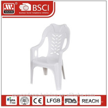 2015 NEW design plastic chair with arms/ comfortable chair