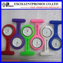 Caliente venta buena calidad silicona clip enfermera reloj (EP-W58409)