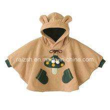 Симпатичные Коралловые Руны Детские одеяла для пошива одежды 3D Baby Cloak