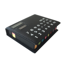 8 Digits Memo Pad Calculator com etiqueta colorida