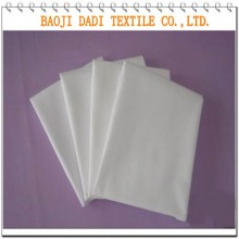 Polyester Cotton bleached plain weave fabric