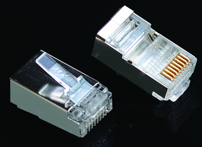 Shielded Connector RJ45 Cat6
