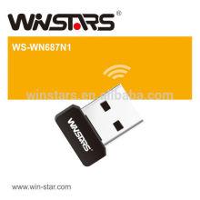 Mini cartão wireless LAN usb. Adaptador Wireless-N USB 2.0 de 150Mbps