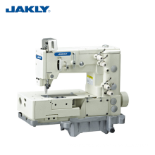 JK1302-4W Flat Bed Double Chain Stitch Picot Bend Tooth Machine of Four Return-sewing Zigzag Industrial Sewing Machines