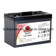 Solar Battery with High Discharge Rate VRLA 12V90ah