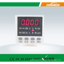 E8 Panel Size 48*48mm Digital AC LED Display Single Phase Multifunction Meter, Can Add Switch Input and Transmitting Output