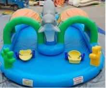 Развеселить развлечений Дельфин герметичные бассейн воды надувные