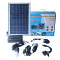 Lampe solaire à lumière solaire alimentée par énergie solaire lampe à LED linéaire Éclairage solaire multifonctionnel à l'extérieur