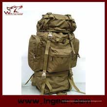 Gran capacidad 65L combate Camping mochila de senderismo mochila bolso militar