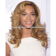 Comfortable Super Wave Hair 100% Real Hair Lace Wigs