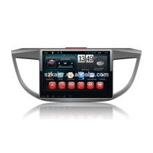 Full touch android 4.4.2 dvd de voiture pour Honda 2013 CRV + OEM + 1024 * 600 + lien de mirrior + 1080P DVR + TPMS + usine directement