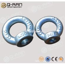 Marine Hardware Carbon Stahl geschmiedete DIN582 Auge Nuss