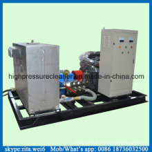 Líquido de limpeza elétrico de alta pressão com pressão de água de 1000 bar