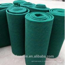 Tampon à récurer de couleur verte en rouleau, tampon de tampon à récurer à vendre